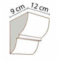 Konzola k trámům 12 × 12 cm | tmavá
