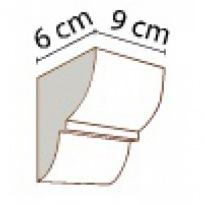 Konzola k trámům 9 × 6 cm | tmavá