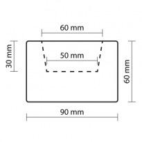 Trám světlý 9×6×200cm