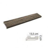 Prkno tmavé 13,5×2cm