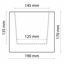Trám světlý 19×17×300cm | světlá