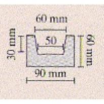 Trám světlý 9 × 6 × 400 cm | světlá