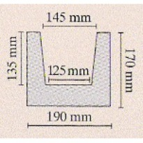 Trám světlý 19 × 17 × 300 cm | světlá
